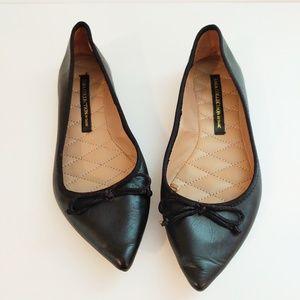 Zara Collection by Basic black flats. Size 38